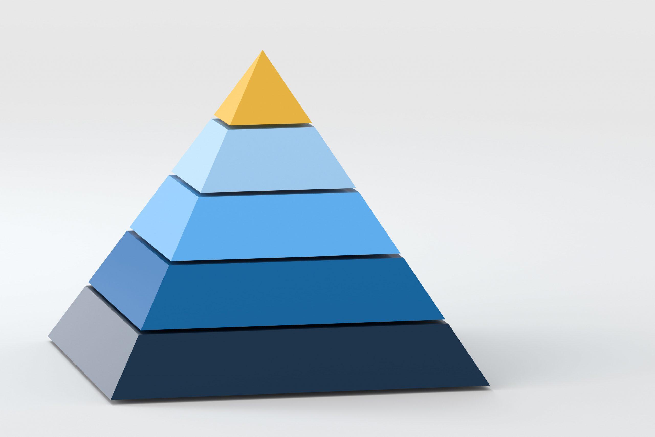 ピラミッド,ヒエラルキー